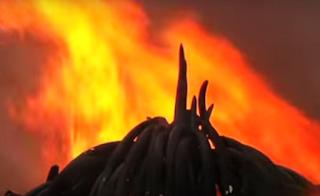 President set ivory on fire.