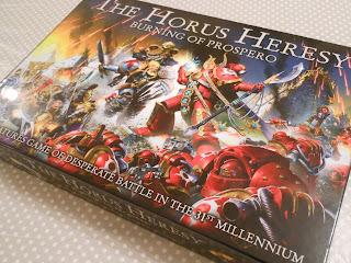 The amazingly illustrated box for The Horus Heresy: Burning of Prospero