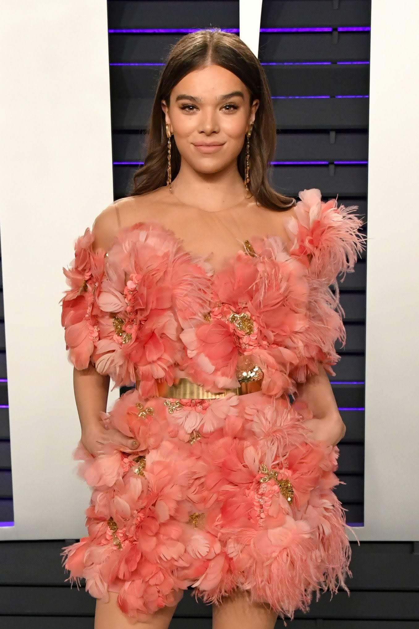 Hailee Steinfeld at Vanity Fair's Oscars Party : 第91回アカデミー賞のヴァニティ・フェアのアフター・パーティのヘイリー・スタインフェルドちゃん ! !