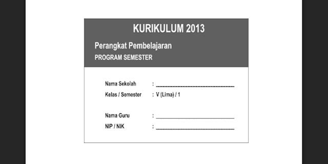 Download Promes (Program Semester) Genap Tahun Pelajaran 2016/2017