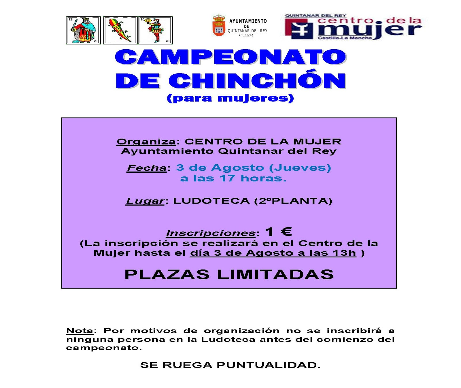Centro De La Mujer Quintanar Del Rey 2017