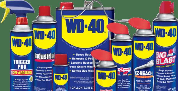Sabes para que serve o WD-40 além de lubrificar portas?