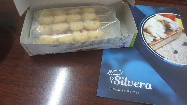 Pre-fried Vannamei Shrimp Skewers. Credit: Silvera Food