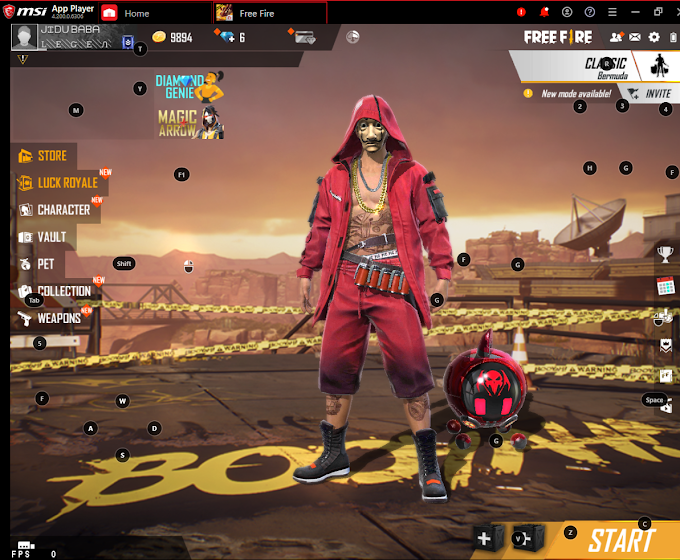 Garena Free Fire On PC Best Emulator For 2gb Ram PC
