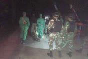 Satgas Yonif MR 411 Patroli Keamanan Bersama Linmas Kampung Yanggandur Merauke