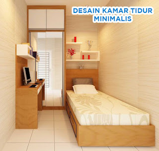 desain kamar tidur 2x4