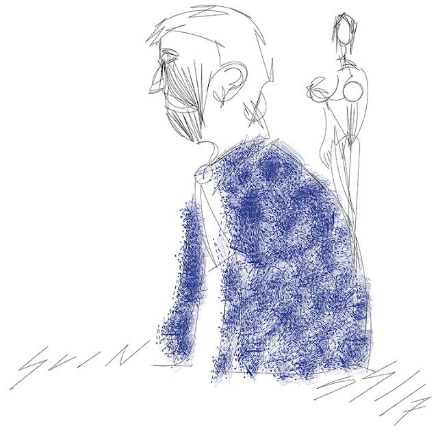 autor: guinski, luiz antonio; guinskimail@gmail.com; guinski_1@yahoo.com; guinski.com; figura em azul; drawing; art; design