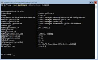 Get-NetIntent -ClusterName CLU4630