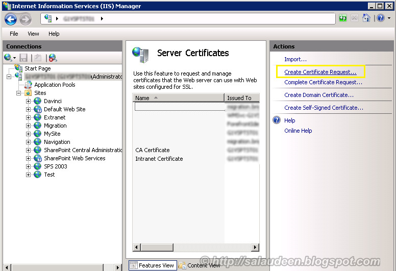 Configuring SSL Certificates in SharePoint 2010 - Step by Step
