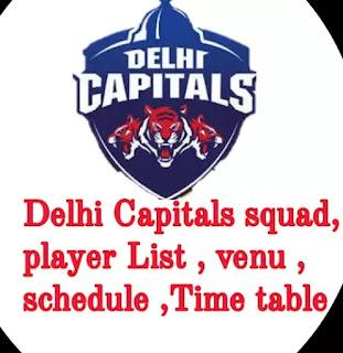 IPL 2020: Delhi Capitals squad, schedule, venue