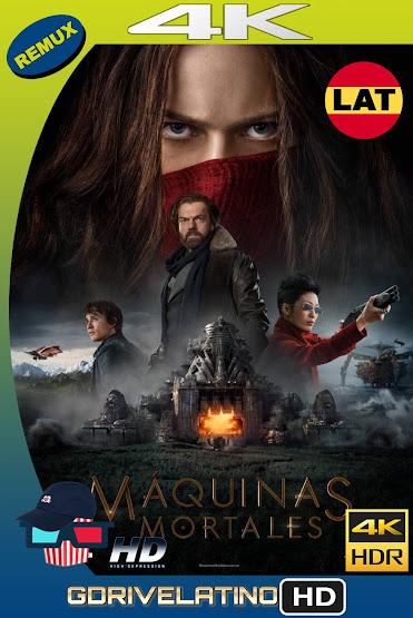 Máquinas Mortales (2018) BDRemux 4K HDR Latino-Ingles MKV