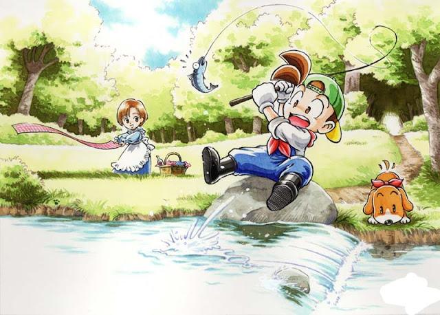 Mendapatkan Semua Ikan Legendaris di Harvest Moon: Back to Nature