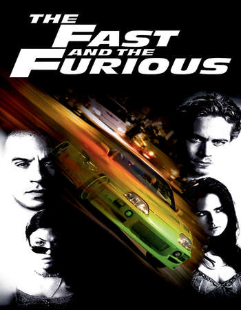 Poster Of The Fast and the Furious 2001 Dual Audio 450MB BRRip 720p HEVC