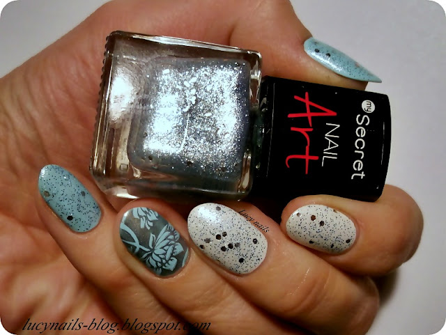 My Secret Nail Art nr 272 Silver Sparks