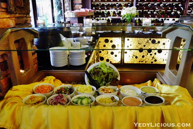 Salad Station Breakfast Buffet at Don Vito Italian Restaurant
