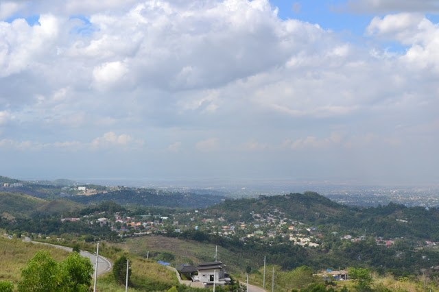 View of Metro Manila from Timberland Sports and Nature Club during the day