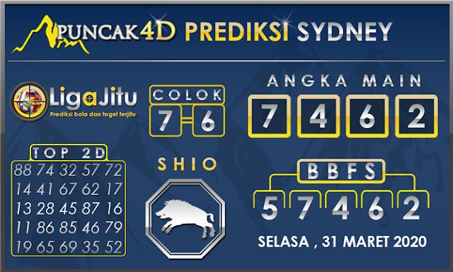PREDIKSI TOGEL SYDNEY PUNCAK4D 31 MARET 2020