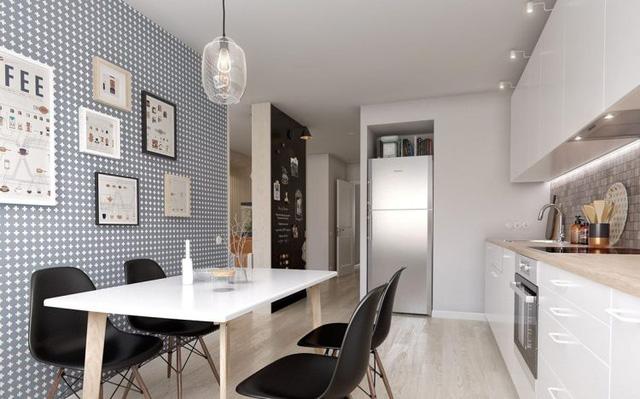 Khu bếp và bàn ăn