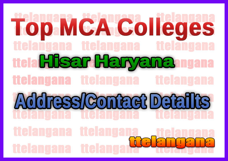Top MCA Colleges in Hisar Haryana