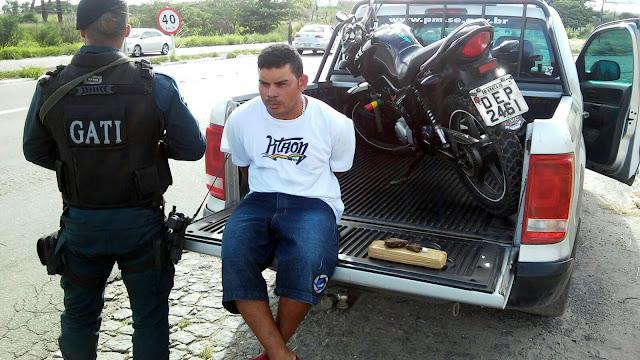 Homem é preso em Socorro suspeito de tráfico de drogas