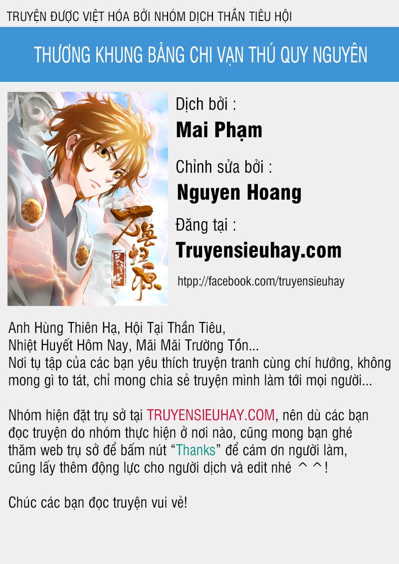 Thương Khung Bảng Chi Vạn Thú Quy Nguyên Chapter 2a video - Hamtruyen.vn