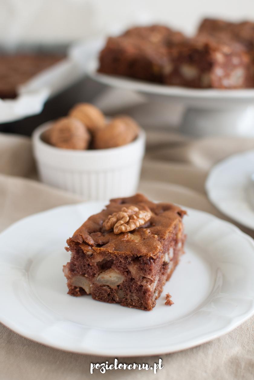 Amerykańskie ciasto z jabłkami (wiewiórka, salceson)