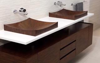 ديكور مغاسل حمامات