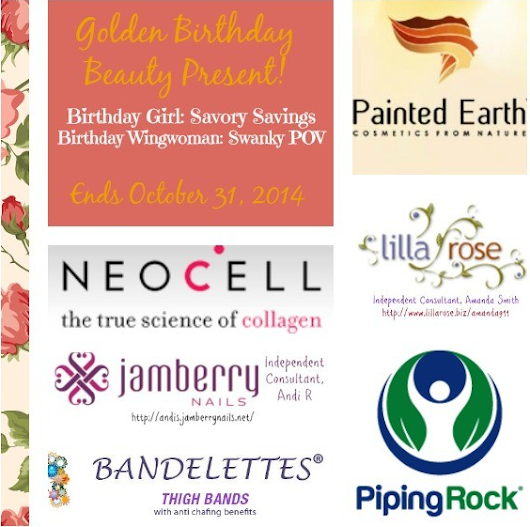 Savory Savings Golden Birthday Giveaway Extravaganza!