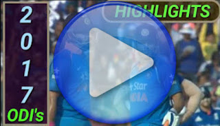 2017 odi cricket matches highlights online
