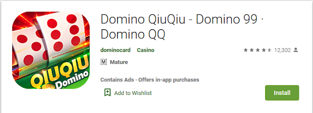 Game Domino QQ Android terbaik