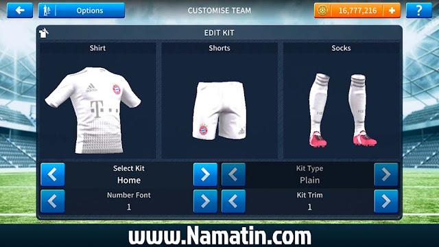 Jersey Dream League Soccer Bayern Munchen