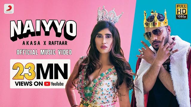 NAIYYO Lyrics in English   AKASA x Raftaar   Latest Hit 2020 Lyrics Planet