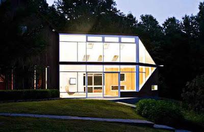 Desain rumah minimalis ala Amerika