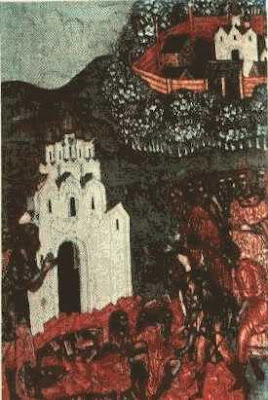 Начало каменного строительства. 1515 г.