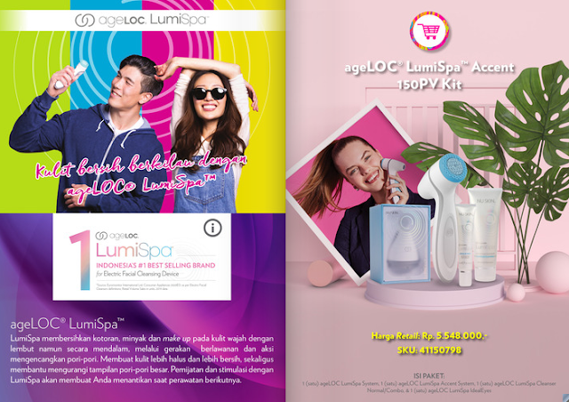 Promo Lumispa Accent Nu Skin September 2020