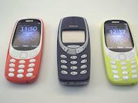 2017 Nokia 3310, legenda yang dihidupkan kembali !