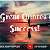 15 GREAT QUOTES ON SUCCESS- Be Smart To Win