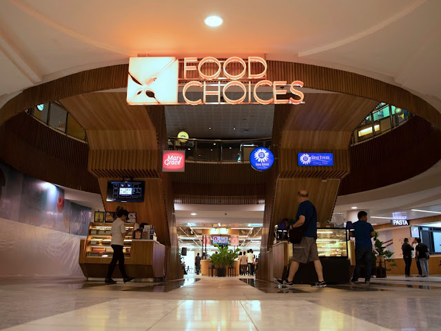 The newly-renovated Glorietta Food Choices