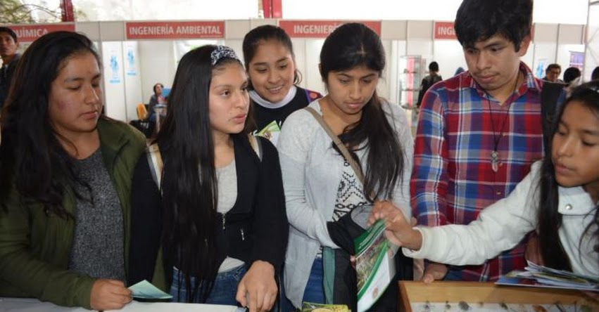 UNMSM: Feria vocacional permite saber qué carrera seguir en la universidad San Marcos - www.unmsm.edu.pe