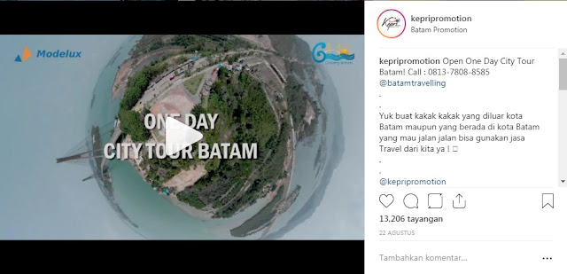 One Day City Tour Batam, Call - 0813-7808-8585 @batamtravelling