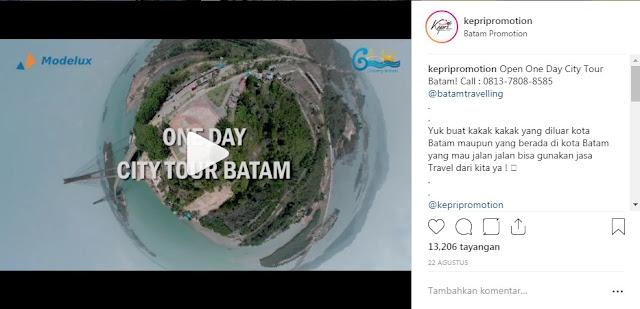 One Day City Tour Batam, Call - 0813-7808-8585 @batamtravelling