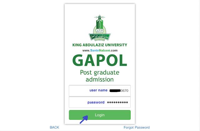 Cara Daftar Online Pascasarjana Universitas Raja Abdul Aziz (KAU), Jeddah, KSA