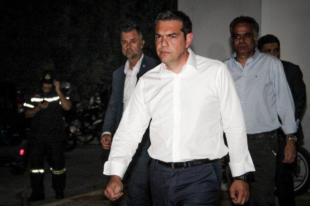 Τσίπρας: Αναλαμβάνω την πολιτική ευθύνη για την τραγωδία αλλά...