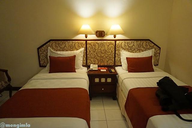 Kamar di Hotel Puri Asri Magelang