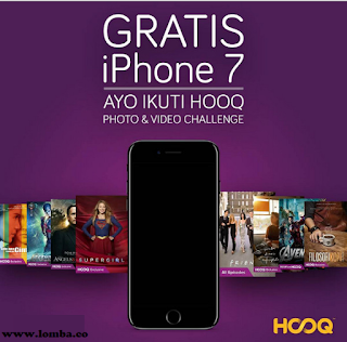 Informasi Lomba Foto Dan Video by Hooq dengan Hadiah Iphone 7 Deadline 24 Desember 2016