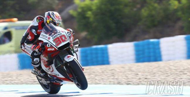 Takaaki Nakagami Tercpat FP1 MotoGP Ceko