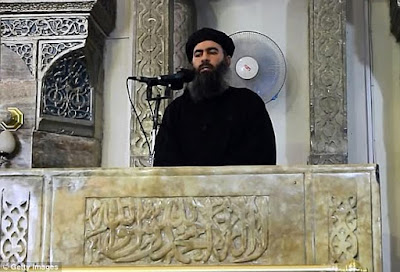 ISIS leader supposedly killed in a targeted airstrike as they held their meeting in Raqqa