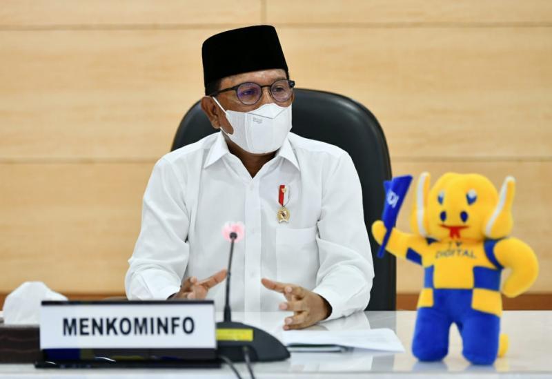 Lebaran Digital Keren, Menteri Johnny: Tidak Mudik, Tak Kurangi Nilai Silaturahmi