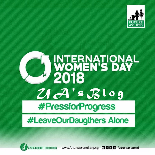 Leave Our Daughters Alone - Aisha Buhari Tells Terrorists On International Women's Day