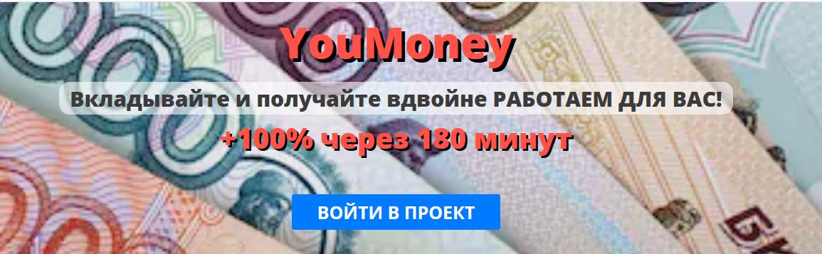 Мошеннический сайт youmoney.website – Отзывы, развод, платит или лохотрон?